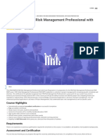 (PMI-RMP)® PMI Risk Management Professional with Exam Preparation Visio Learning