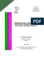 DERECHOS DE LA MATERNIDAD COMPARATIVO