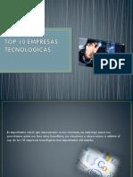 Top 10 Empresas Tecnológicas