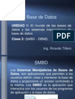 Clase 2 Base de Datos
