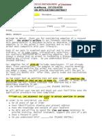 ARF Adoption Application 2010