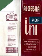 Algebra - Problemas teoria de exponentes - Cesar Vallejo.pdf