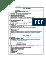 Checklist Konseling Kb