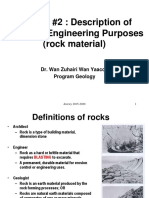 STAG2223 L2 Description of Rock Material