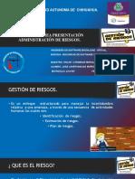 1.18 Presentacion Administracion Del Riesgo