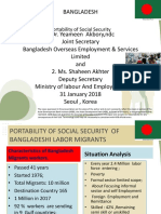 Portability of Social Security - Bangladesh