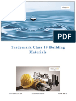 Trademark Class 19 Building Materials
