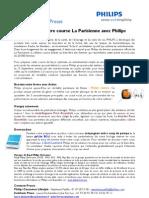 Préparez votre course La Parisienne avec Philips