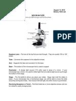 [Bot102A Lab] Microscope