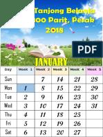 Calendar Mingguan Sekolah