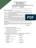 Soal Ukk Bahasa Sunda Kelas 4