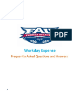 Workday Travel FAQs