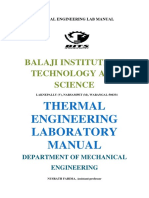 Heat Power Lab Manual