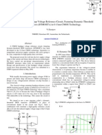 Development of the Bandgap Voltage Reference Circuit