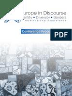 EID Conference 1 Proceedings