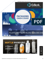 Plastic Bottle Paneling - 5 Causes and the Cures