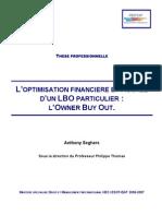 L'OPTIMISATION FINANCIERE ET FISCALE