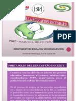 (1)PORTAFOLIO DEL DESEMPEÑO DOCENTE