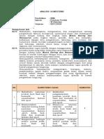 Analisis Kompetensi penataan produk kelas 11 SMK revisi
