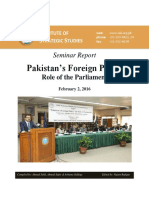 Seminar Report Pak FP February 02 2016