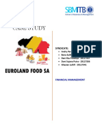 Euroland Food SA Case Study - Syndicate ABD2G