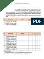 Format Pemetaan Kompetensi Dan Teknik Penilaian