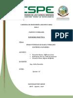 Informe Pastos San Carlos