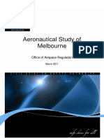 Melb Aero Study