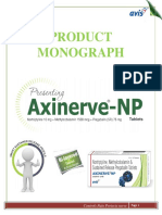 Axinerve NP Monograph