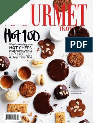 Gourmet Traveller Au 2016 05 New Look Cookies Biscuits