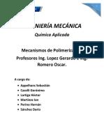 Trabajo Final Quimica Aplicada Mecanismos de Polim