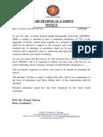 Attendance Letter (2)