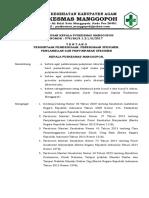 8.1.2.1 SK Permintaan Pemeriksaan, Penerimaan Spesimen & Pengambilan & Penyimpanan Spesimen