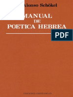 Schokel - Manual de Poética Hebrea