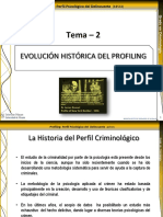 Tema 2-Evolución Histórica Del Profiling
