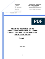 PlanCacaoCafe Cameroun 2015 2020