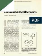 Mulligan Common Sense Mechanics Part 1