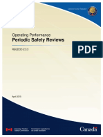 REGDOC 2 3 3 Periodic Safety Reviews Eng