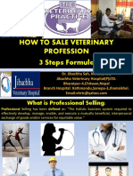 How to Sale Veterinary Profession-Dr. Jibachha Sah