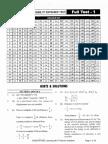 NEET Test Series 1 Solution