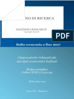 Italia Economia a Fine 2017