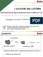 Activation Alcaline Des Laitiers