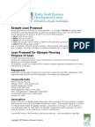 Sample Loan Proposal