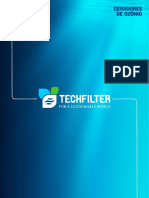 Catalogo Geradores de Ozonio Techfilter