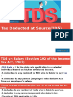 Tax Deducted at Source (TDS)