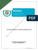 Guía Para La Elaboración y Control de Documentos Del SIGI