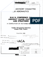 NACA Conference on Aircraft Loads 1955