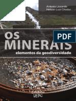 Os minerais -elementos geodiversidade.pdf