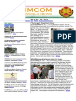 10 September 2010 IMCOM World Newsletter