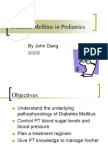 Diabetes Mellitus in Pediatrics